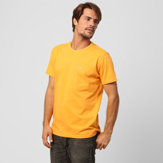 1c6bd07882 Camiseta Oakley Dry Masculina - Laranja Claro - Compre Agora