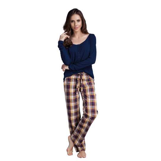 4d8263658 Pijama Longo Infantil Inspirate Coração - Compre Agora