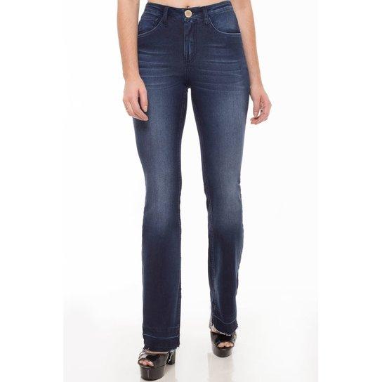 fa987392f Calça Jeans Mid Rise Flare Eventual Feminina - Compre Agora