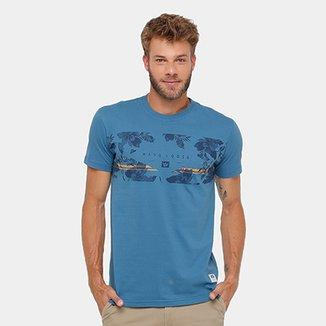 53c65f7cea Camiseta Hang Loose Silk Las Flores Masculina
