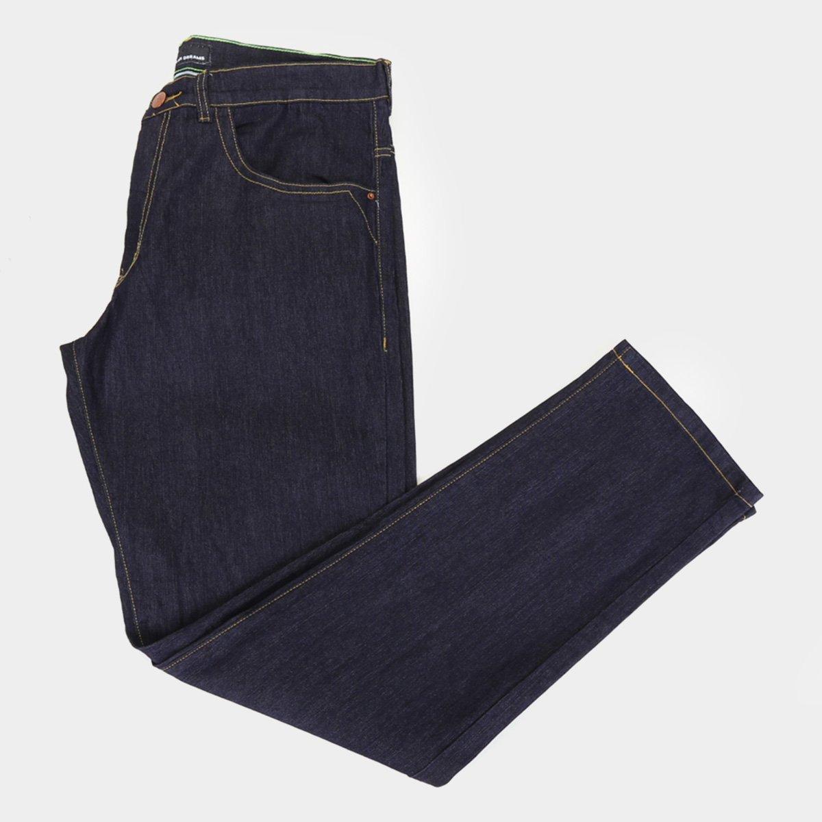 Calça Hd Jeans Ly Estonada Plus Size Masculina