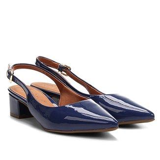 e70cfd1571 Scarpins Bebecê Feminino Azul Escuro - Calçados