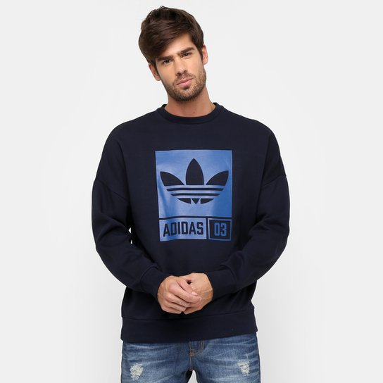 df49bf11e98 Moletom Adidas Originals Street Grp Crew - Compre Agora