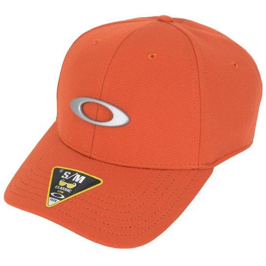 c275e90758265 Boné Oakley Tincan Cap - Laranja - Compre Agora