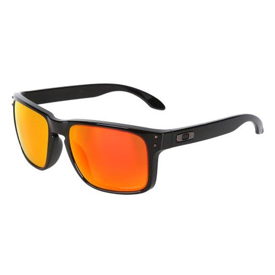 Óculos de Sol Oakley Polarized Masculino - Laranja - Compre Agora ... af5de33e62