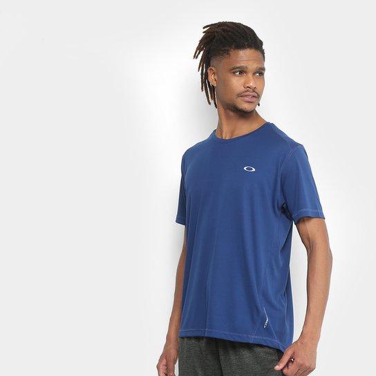 10a3354ce6e7c Camiseta Oakley Daily Sport Manga Curta Masculina - Azul Escuro ...