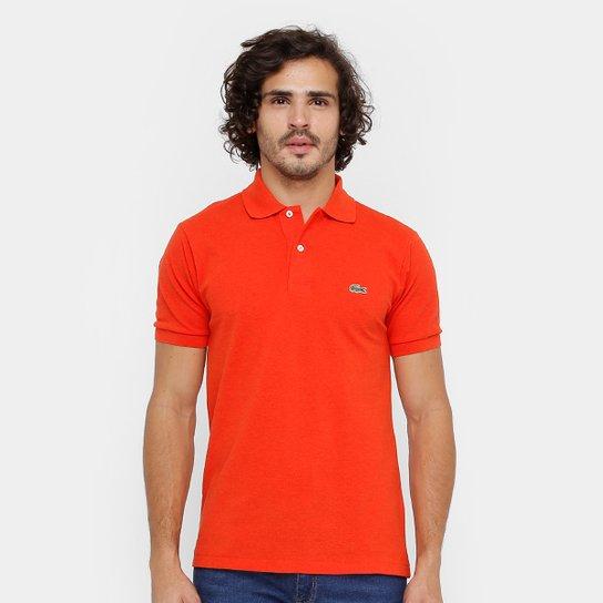 Camisa Polo Lacoste Mescla Masculina - Compre Agora  6631fccea3335
