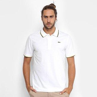 Camisa Polo Lacoste Bordada Masculina 37c21150ab7