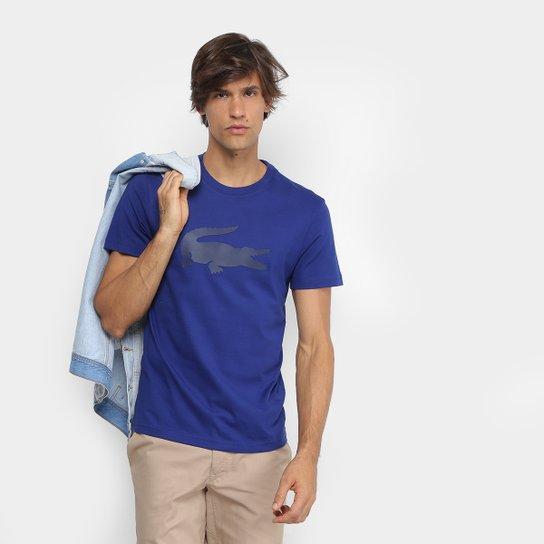 3447df895fb94 Camiseta Lacoste Crocodilo Emborrachado Masculina - Compre Agora ...