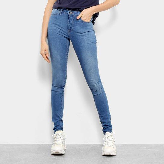 e5d3de1b1fb6df Calça Jeans Skinny Calvin Klein Five Pockets Feminina - Azul Claro