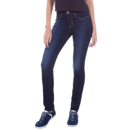 Calça Jeans Levis 311 Shaping Skinny Escura Feminina - Compre Agora ... 6fd8f4f6ce8
