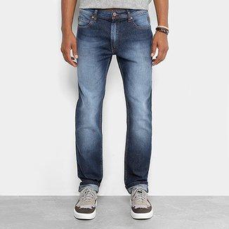34bd4a37a Calça Jeans Slim Cavalera Classic Estonada Masculina