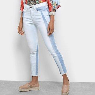 fd6ccd110 Calça Jeans Carmim Vietnã Skinny Cropped Feminina