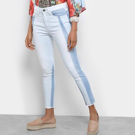 aa738b822 Calça Jeans Carmim Vietnã Skinny Cropped Feminina - Azul Escuro ...