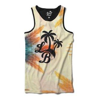 Camiseta Regata Long Beach Céu de Long Beach Sublimada Masculina be4555e1f66