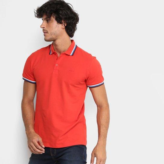 2e7eda6d6 Camisa Polo Colcci Piquet Frisos Color Masculina - Laranja