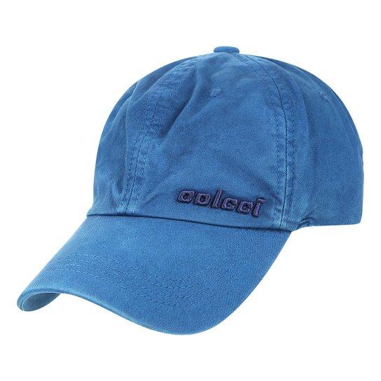 Boné Colcci Strapback Clássico Bordado Aba Curva Masculino - Azul Escuro c0f37f44ce5