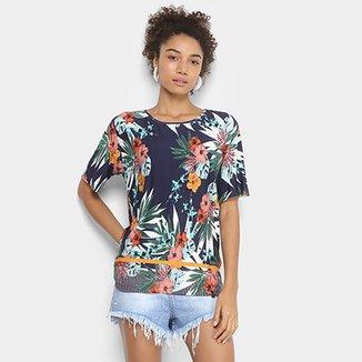 Camiseta Cantão Estampada Feminina d05e29cfc37