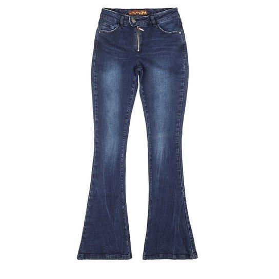 9ed3f2b18b9 Calça flare cintura média feminina Malwee - Compre Agora