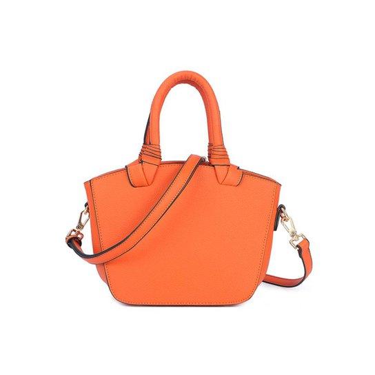 3b0b250c0 Bolsa Macadâmia Mini Bag De Mão Feminina - Laranja | Zattini