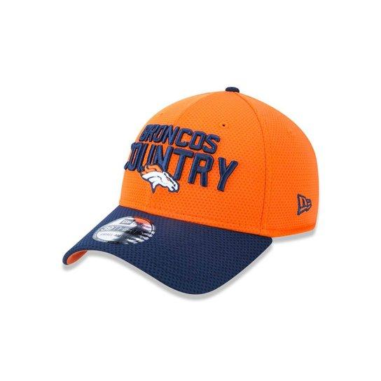 Boné 3930 Denver Broncos NFL Aba Curva New Era - Laranja - Compre ... 2ebd49ef7eb