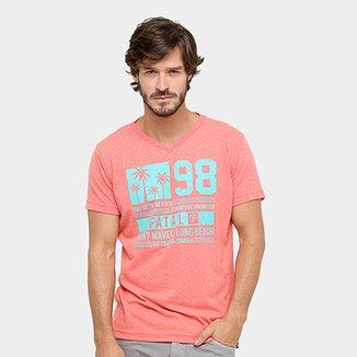 Camiseta Fatal Gola V Great Waves ec06ffded2eb0
