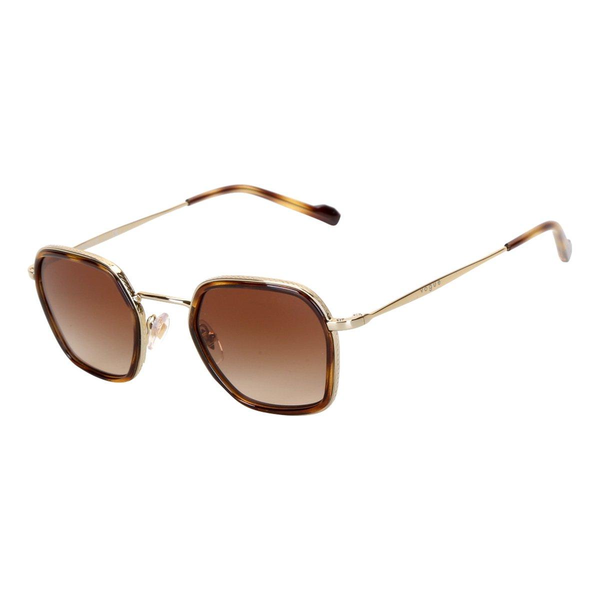 Óculos de Sol Vogue Degradê Metal VO4174S Masculino
