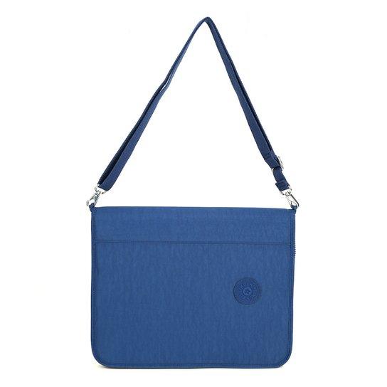 898874349 Fichário Kipling New Storer - Azul Escuro