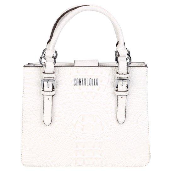 a604ce796 Bolsa Santa Lolla Handbag Croco Alto Brilho Feminina | Zattini