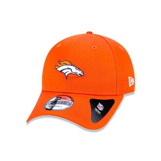 Boné 940 Denver Broncos NFL Aba Curva Snapback New Era - Laranja ... bc39df44becab