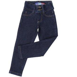 b64e29e3e5 Calça Jeans Infantil Modelo Slim Fit Rodeo Western Feminina