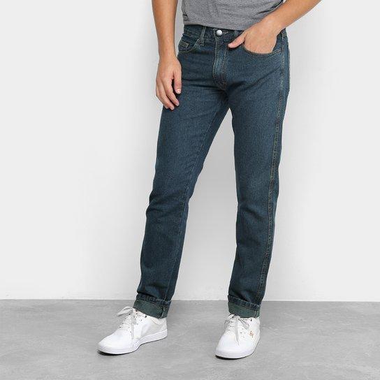 4d24fb192 Calça Jeans Slim Dubai Basic Masculina - Azul Escuro | Zattini