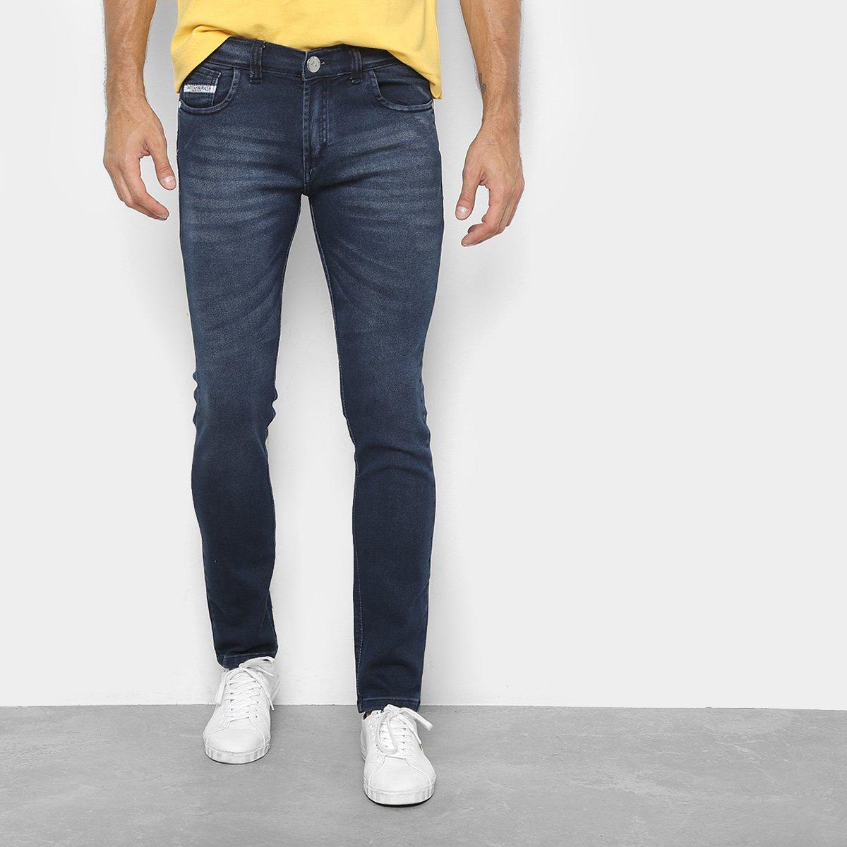 34da9e7dc Calça Jeans Preston Confort Jeans Moletinho Masculina