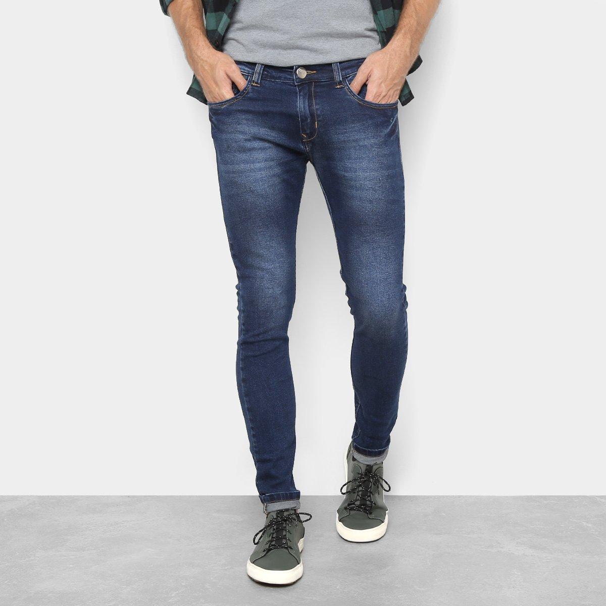 524d69102 Calça Jeans Preston Five Pockets Escura Masculina