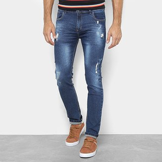 b83de2daf Calça Jeans Preston Destroyed Estonada Masculina