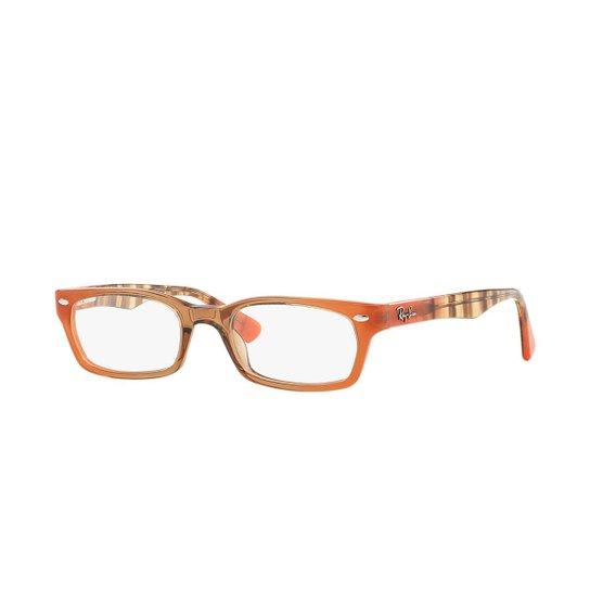 51ddff11c Armação de Óculos Ray-Ban Feminino - Laranja | Zattini
