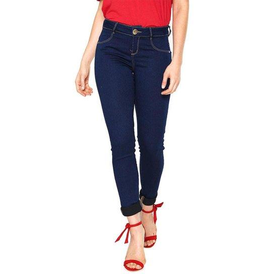 d2da5b5de Calça Jeans Morena Rosa Skinny Andreia Feminina - Azul Escuro ...