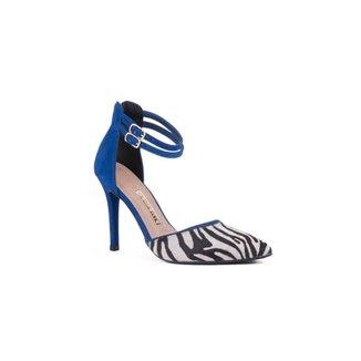 f6d5948937 Sandálias Via Marte Azul Royal - Calçados