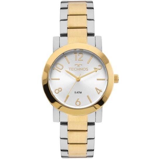 8356262bf74 Relógio Technos Feminino Elegance Boutique Bicolor - 2035MLO 5K 2035MLO 5K  - Prata+