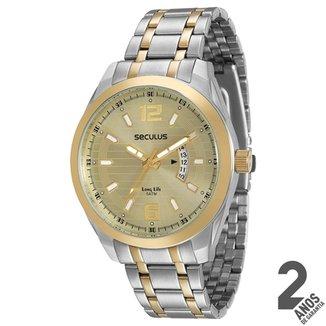 47bfea43bf7 Relógio Seculus Clássico