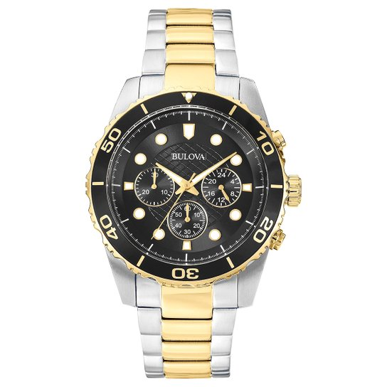 cd18fc675f9 Relógio Bulova Analógico WB31989P Masculino - Compre Agora