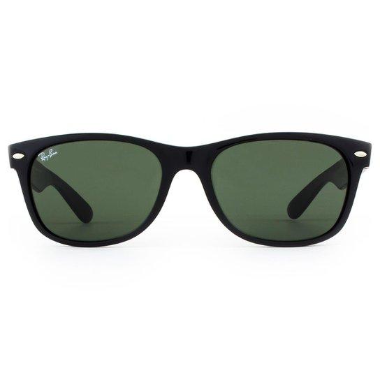 92a57e4bbb29a Óculos de Sol Ray Ban New Wayfarer Classic RB2132LL 901L-55 Masculino -  Preto+