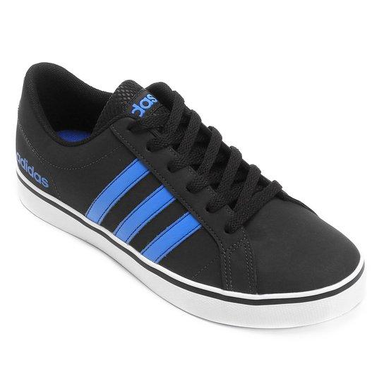 fa06008fa8633 Tênis Adidas Vs Pace Masculino - Preto e Azul - Compre Agora