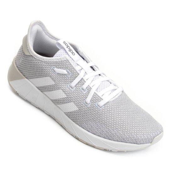 facecd71d Tênis Adidas Questar X Byd Feminino - Branco e Azul - Compre Agora ...