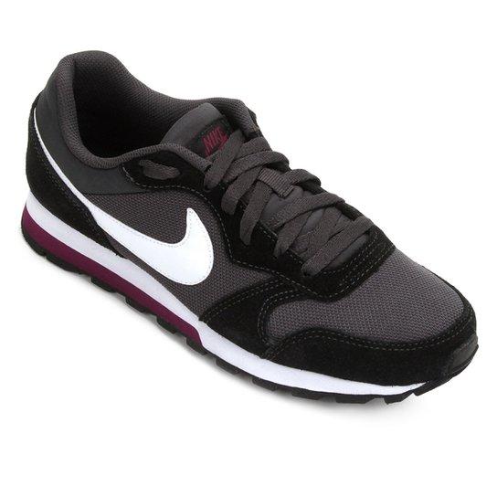 8c1aeaed44 Tênis Nike Md Runner 2 Feminino - Branco e Grafite - Compre Agora ...