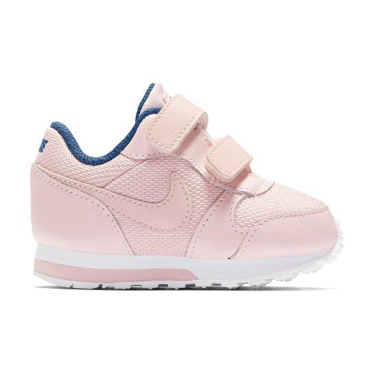 2837b9564ae Tênis Infantil Nike Md Runner 2 - Rosa e Azul - Compre Agora