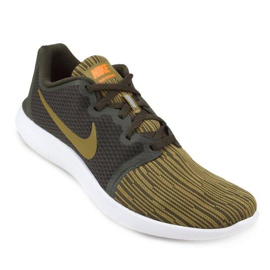 7e38ae80d3 Tênis Nike Flex Contact 2 Masculino - Preto e verde - Compre Agora ...