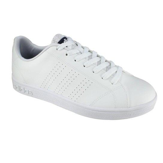 de94ba934ff Tênis Adidas Advantage Vs Clean - Branco - Compre Agora