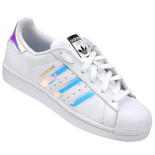 Tênis Adidas Superstar Infantil - Compre Agora  218500b43a926