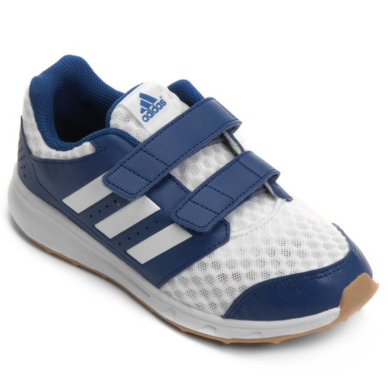 328cd34847d Tênis Adidas Lk Sport 2 Cf K Infantil - Branco+Azul Royal